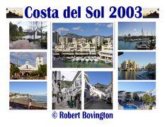 Costa del Sol - collage © Robert Bovington