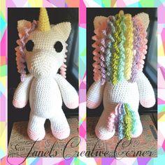 Mimi the Unicorn is handmade with love and magic!