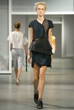 A look from the 3.1 Phillip Lim Spring 2015 RTW collection.