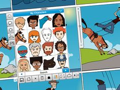 www.pixton.com.  Free cloud software for making comics.  Editions for recreation, schools and business.    -Make a comic of your favorite book  -Comic fan fic  -Comic memoir (along with a comic memoir book club?)  -Create your own superhero  -Comic cards for holiday programming