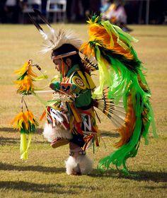 Little Pow Wow Dancer