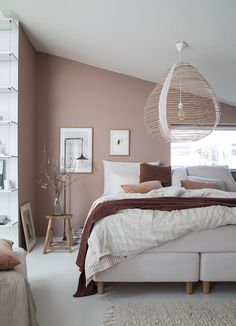 20 Cozy Bedroom Which Makes You Don't Want to Leave Your Bedroom - Enthusiastized My dream bedroom update: Sandö bed from Swedish brand Carpe Diem Beds Dusty Pink Bedroom, Pink Bedroom Walls, Cozy Bedroom, Bedroom Colors, Dream Bedroom, Home Decor Bedroom, Bedroom Furniture, Master Bedroom, Bedroom Ideas