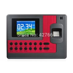 (78.00$)  Buy here - http://aiio4.worlditems.win/all/product.php?id=1845492307 - Free shipping Realand A-C110 Fingerprint Time Attendance Clock with  ID Card Support  Arabic Spanish Language