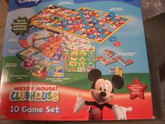 Disney Mickey Mouse Clubhouse - 10 Ga...