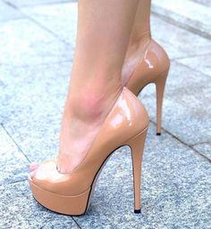 Nude High Heels, Hot High Heels, Platform High Heels, Sexy Heels, High Heel Pumps, Pumps Heels, Stiletto Heels, Stilettos, Extreme High Heels