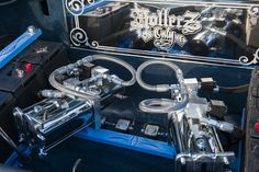 2 pump Competition Kit   -------------------------------------  www.coolcars.org  cce equipped , hydraulics system , cce , cce hydraulics , cool cars, cool , cars, louisville , kentucky , lowriders, low low , lowrider , setup , hydraulic setup , low , custom , cars, car , wires wheels , spokes , switches
