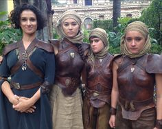 Ellaria Sand and her daughters, The Sand Snakes, Game of Thrones