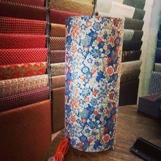 Papier japonais, lampe à poser mon univers papier