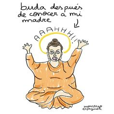 Ajajaja mi madre by @monstruo_espagueti