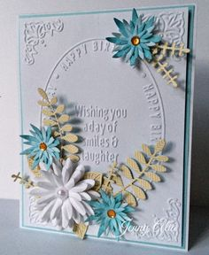 Jen's Paper Obsession: Cheery Lynn July Blog Hop Featuring The IOE Birthday Embossing Folder!