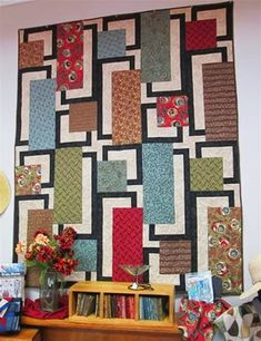 modern and simple patchwork: 11 тыс изображений найдено в Яндекс.Картинках Big Block Quilts, Quilt Blocks, Quilting Room, Quilting Projects, Quilting Ideas, Asian Quilts, Farm Quilt, Two Color Quilts, Japanese Quilts