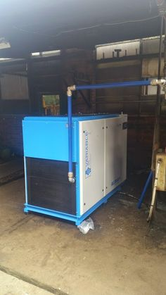 New ALMiG Variable 55 Compressor now installed into a factory in Wolverhampton.
