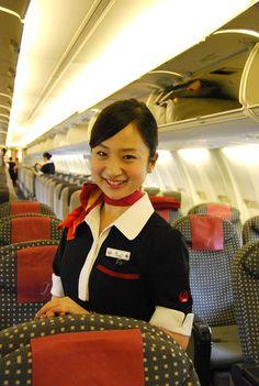 JEX JAL Express cabin crew