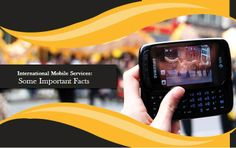 International Mobile Services: Some Important Facts