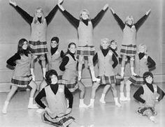 PITTSBURGH STEELERS~the old Steelerettes from the 1960's Really!