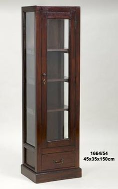 Narrow cabinet - Home Page Living Room Partition Design, Room Partition Designs, Mirrored Furniture, My Furniture, Furniture Design, Dark Brown Furniture, Indian Bedroom Decor, Crockery Cabinet, Wooden Cabinets