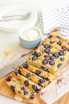 zucchini banana bread, healthy recipe low in sugar with blue berries for extra sweetness great kid snack