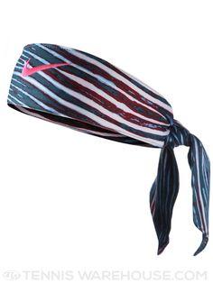 Nike Print Head Tennis Tie Vivid Blue Hyper Pink Nike Clothes 376f2234cd87