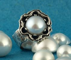Pearl Ring. #amazing-ring #ruthdoron #like