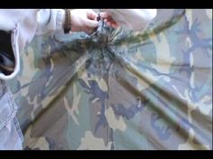 Posted By Nicholas H Battjes - How to Make a wilderness shelter out of USGI poncho: The USGI poncho is a vital part of nearly every US soldiers gear, and can be used for more than just protecting you from the rain as clothing. It can also be fashioned into a shelter for wilderness camping, and this video will teach you how to do it.