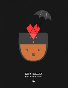 Lost in Translation / poster by Dilan Manahan