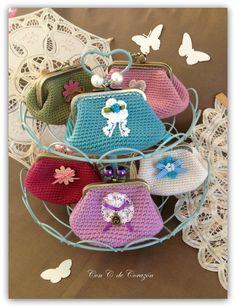 Monederos crochet