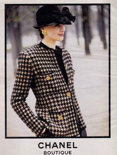 1986 Ines de la Fressange - Chanel