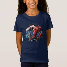 (Spider-Man in Fractured Web Graphic T-Shirt) #MarvelComics #SpiderMan #SpiderWeb #Spiderman #SpidermanGraphic #SpidermanLeap #SpidermanLogo #SuperHero is available on Famous Characters Store   http://ift.tt/2bKRGif