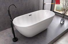 @lazienki_inspiracje Owalna wanna wolnostojąca Olvena marki Corsan. ------------------------------- #corsan #remontujemy #mynordicroom #projektowaniewnetrzszczecin #wolnostojace #wolnostojąca #owalna #bath #frestandingbath #designbath #bathdesign #showerdesign Siena, Bathtub, Bathroom, Design, Products, Standing Bath, Washroom, Bathtubs, Bath Tube