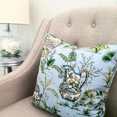 Hamptons House, The Hamptons, Blue And Green, Reading Nook, Snuggles, Home Furniture, Indoor, Throw Pillows, My Style