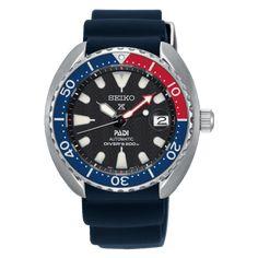 """Seiko Releases Four JDM """"Mini-Turtles"""" (ref. Seiko Diver, Silicone Bracelets, Metal Bracelets, 9 Mm, Mini Turtles, Seiko Men, Seiko Watches, Stainless Steel Watch, Automatic Watch"""