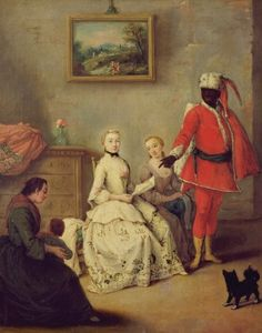 The Moor's Letter, c.1750 by Pietro Longhi