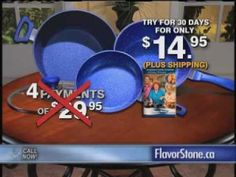 Flavorstone Cookware Info- commercial.  Safe cooking with PFOA free #pots and #pans.     http://www.thane.ca/flavorstone/