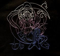 Goddess Nyx Tarot/Altar Cloth by ToadWerks on Etsy # Goddess #wiccan #tarotcloth