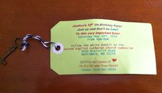 A printer, colored ink, scissors and the host's verbiage & wala!!! An invitation for under $1.00!!!!