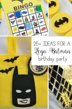 Get inspired by these Lego Batman birthday party ideas.