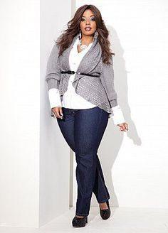 Ashley Stewart... Who said you can't be plus size and gorgeous. I have so much respect for women like this  :-)