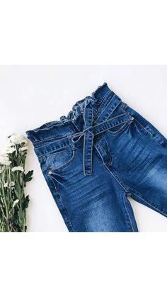 Denim Shorts, Women, Fashion, Zapatos, Moda, Women's, Fasion, Trendy Fashion, La Mode