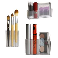 Magnetic Cosmetics Organizers  The trays are customizable and feature removable dividers $6.99