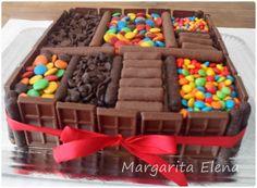 Nuevas Tendencias en Decoración de Tortas: Tortas Decoradas con Golosinas