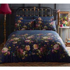 Renaissance Duvet Set Midnight by Oasis - Duvet cover : Brewers Home Duvet Bedding Sets, Luxury Bedding Sets, Linen Bedding, Bed Linens, Gray Comforter, Linen Pillows, Oasis, Renaissance, Neutral Bed Linen