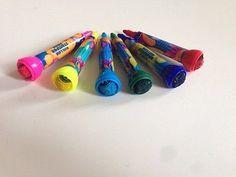 6 Stempel Roll Stempelstifte Malstift Stift Motiv Malen Basteln Farben