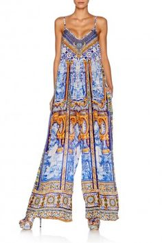 CAMILLA ROAD TO SEVILLE GATHERED WIDE LEG JUMPSUIT 3