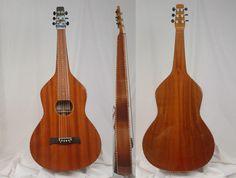 Mahogany Lap Steel Guitar