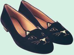Cute cat shoes!