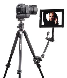 Wallee Connect Bracket Mounts iPad to your existing photography gear for tethered wireless shooting.