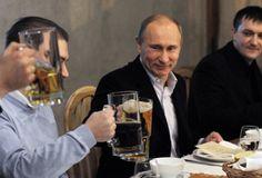 Vladimir Putin - Beer (credit: Bloomberg View)