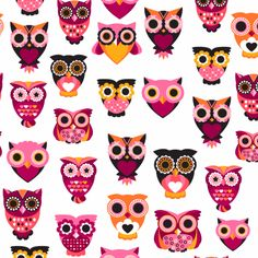 owl pattern ♥   ...........click here to find out more     http://googydog.com
