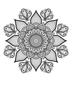Free Flower Mandala Coloring Pages. 30 Free Flower Mandala Coloring Pages. Grab This Free Flower themed Mandala Adult Coloring Page Abstract Coloring Pages, Pattern Coloring Pages, Printable Adult Coloring Pages, Flower Coloring Pages, Mandala Coloring Pages, Animal Coloring Pages, Coloring Book Pages, Coloring Pages For Kids, Kids Coloring