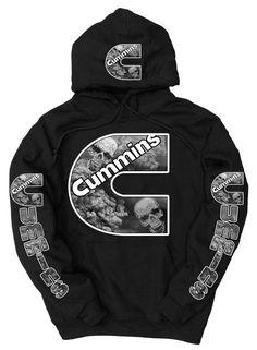 3c101dfd3 Cummins Diesel Smoke Skulls Logo Black Hoodie sweatshirt Cummings Dodge  #fashion #clothing #shoes
